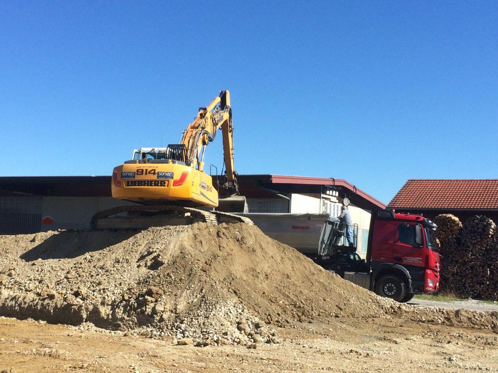 Erdarbeiten Baggerarbeiten in Fürstenfeldbruck