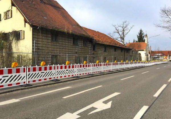 Abbruch Gutshof in Karlsfeld