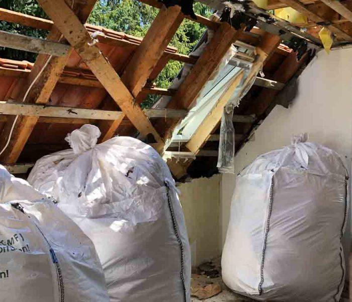 Abbruch Einfamilienhaus in Germering